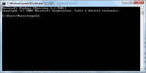 eliminare virus polizia command prompt