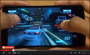 Need For Speed Most Wanted NEXUS 5 Gameplay!