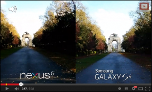 Nexus 5 vs Galaxy S4 - Camera Test Comparison
