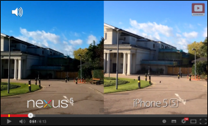 Nexus 5 vs iPhone 5s - Camera Test Comparison