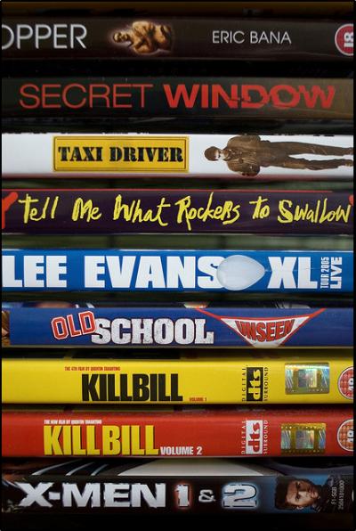 Catalogare i film sul computer