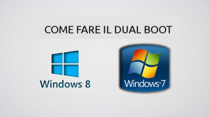 Windows8 dual boot