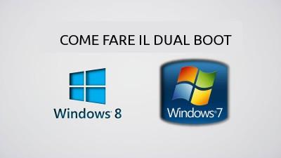 Installare Windows 7 in dual boot con Windows 8