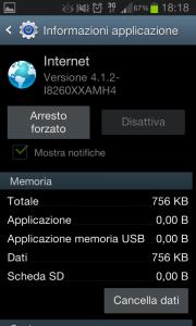 applicazioni internet android