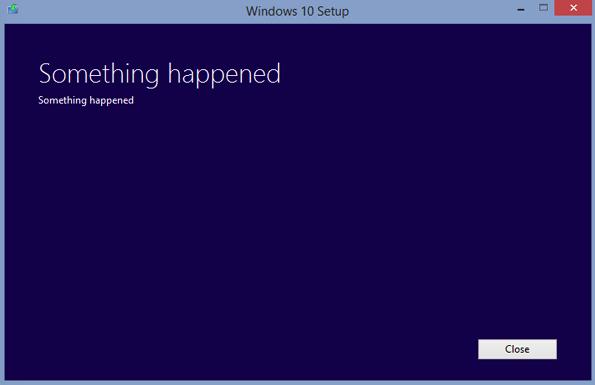 qualcosa è andato storto - something happened