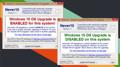 Bloccare aggiornamento automatico a Windows 10